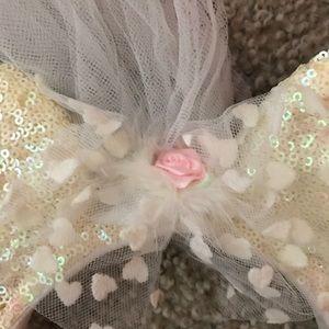 Disney Accessories - Wedding Minney Mouse Disney Ears